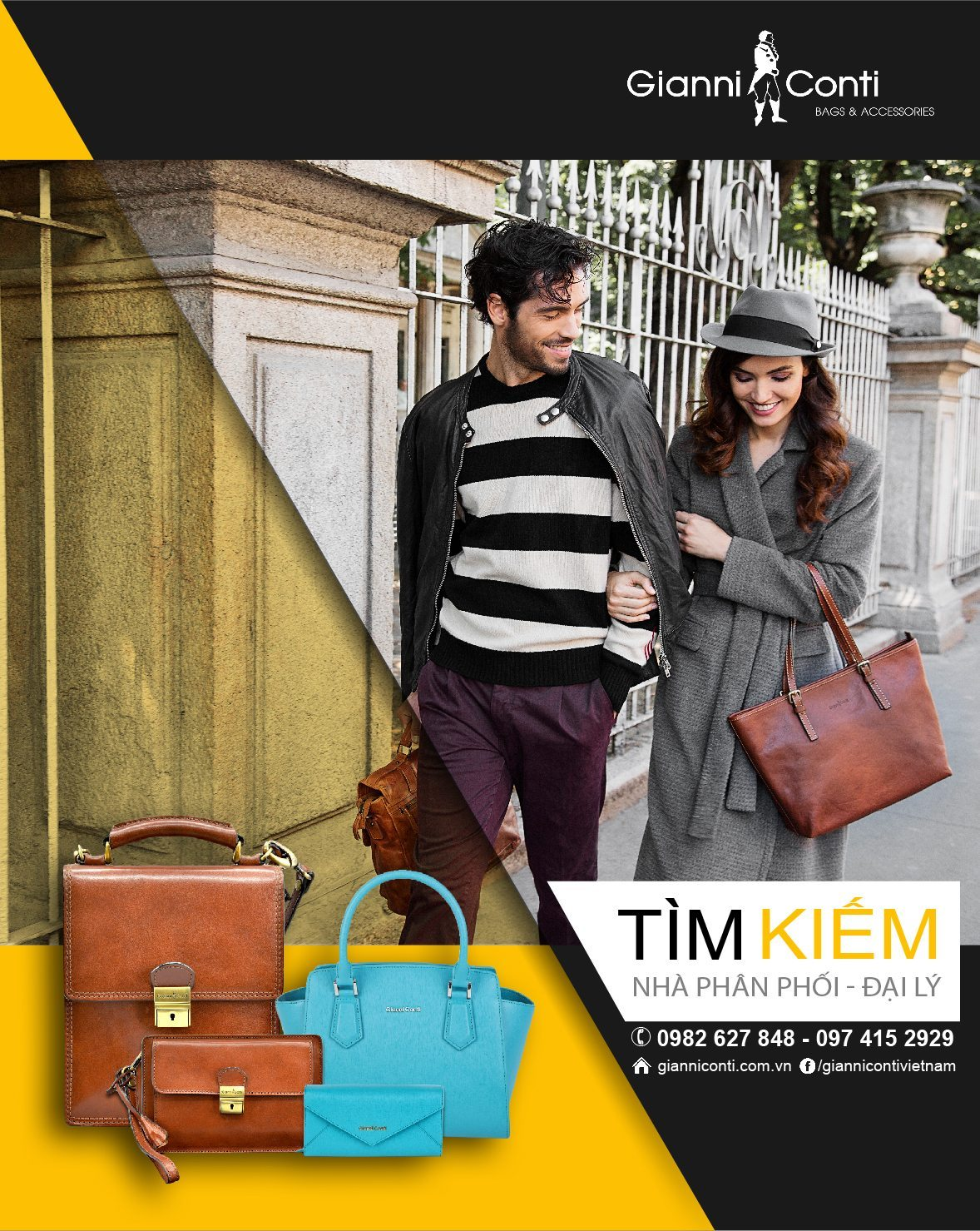 Gianni Conti Vietnam is now looking for Distributors!
